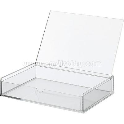Acrylic Document Flip Top Box - One Drawer F15003D