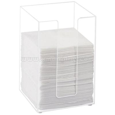 Clear Acrylic Beverage Napkin Holder F15005F