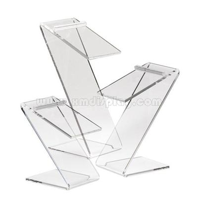 Clear Acrylic Counter Top Shoe Display Set F15003S