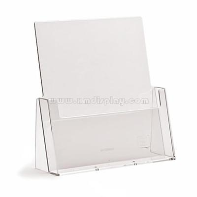 Desktop A4 Clear Acrylic Leaflet Holder F15006B