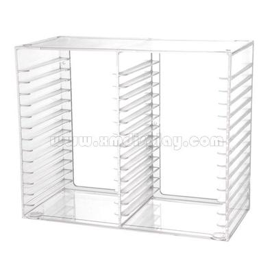 Acrylic Stackable CD Holder F15001R