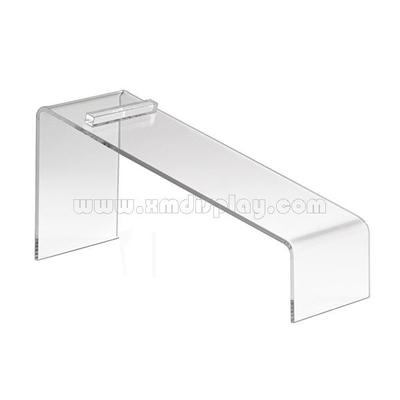 Clear Acrylic Counter Top Shoe Display Stand F15004S