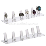 Clear Acrylic Ring Display F15008J