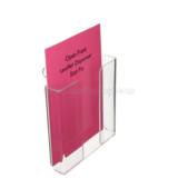Open Front Leaflet Dispenser Slat Fix F15003B
