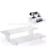 Set of 2 Acrylic Risers with Ripple Effect F15007J