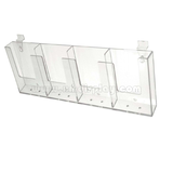 Plankwall 4 x DL Brochure Holder F15010B